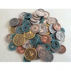 Scythe - metal coins