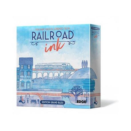Railroad Ink : Edition Grand Bleu ( precommande fin mars )
