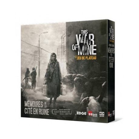 This War of Mine : le Jeu de Plateau - Mémoires de la Cité en Ruine