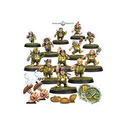 Blood Bowl : Team -GREENFIELD GRASSHUGGERS - halflings
