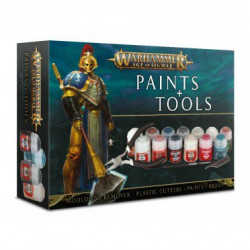 Citadel : Peinture - Warhammer Age of Sigmar Paint + Tools Set