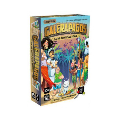 Galerapagos extension : Tribu et Personnages