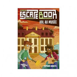 Escape Book Junior - Vol Au Musée