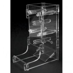 Lanceur de dé e-Raptor Dice Tower - cuboid transparent