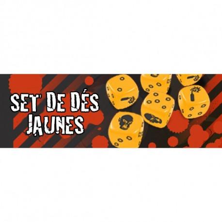 Zombicide : Set de Dés Jaunes
