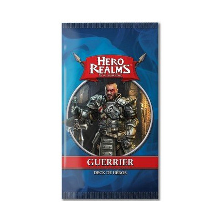 HERO REALMS deck de Hero GUERRIER