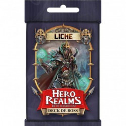 HERO REALMS deck Boss Liche